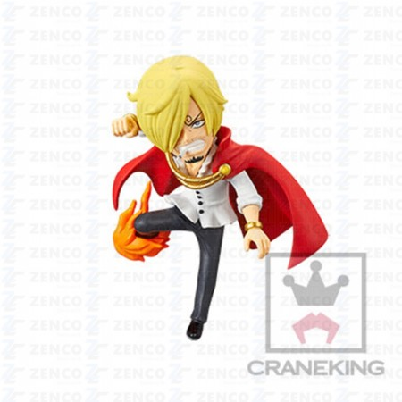 Banpresto One Piece WCF - Battle of Luffy Whole Cake Island - Sanji (PVC Figure)