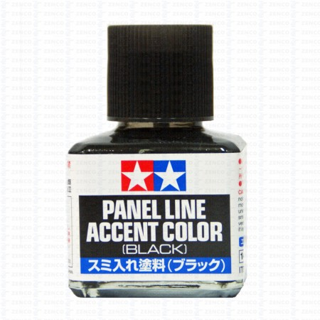Tamiya Panel Line Accent Color Black TA 87131