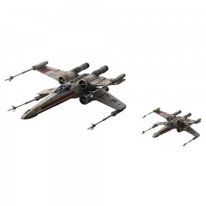 Bandai Star Wars Red Squadron X-Wing StarFighter 1/72 & 1/144
