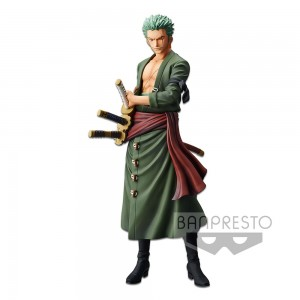 Banpresto Grandista One Piece - The Grandline Men - Roronoa Zoro (PVC Figure)