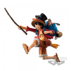 Banpresto One Piece Monkey D Luffy Figure (PVC Figure)