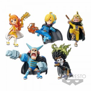 Banpresto One Piece WCF - Mugiwara 56 - Vol 2 Full Set [Set of 5] (PVC Figure)