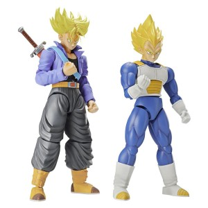 Bandai Figure-rise Standard Super Saiyan Trunks & Super Saiyan Vegeta DX Set