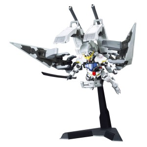 Bandai HG Gundam Barbatos with Long Distance Transport Booster Kutan Type-III 1/144