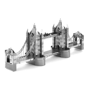 Tenyo London Tower Bridge Metallic Nano Puzzle