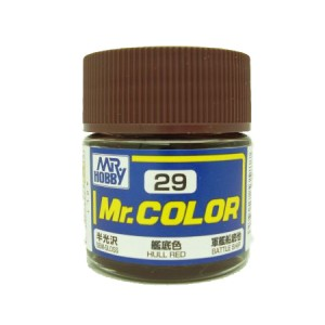Mr.Color 29 Hull Red