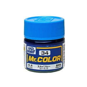 Mr.Color 34 Sky Blue