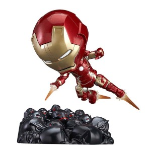 Nendoroid 543 Iron Man Mark 43 Hero's Edition + Ultron Sentries Set (PVC Figure)