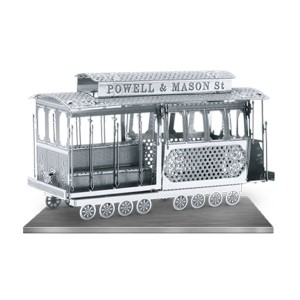 Tenyo Cable Car Metallic Nano Puzzle