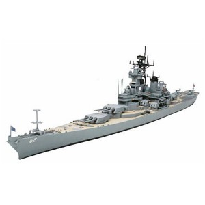 Tamiya BB-62 New Jersey U.S. Navy Battleship 1/700 รุ่น TA 31614