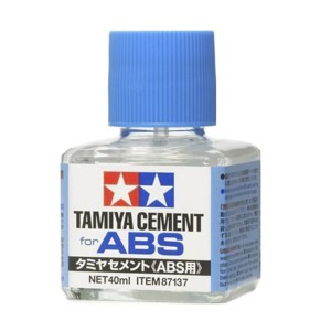 Tamiya Cement for ABS รุ่น TA 87137 (ฝาน้ำเงิน)