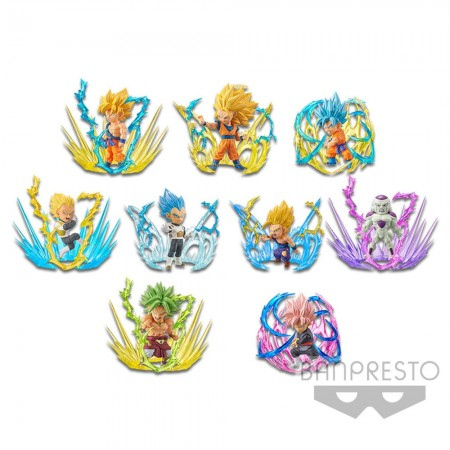 Banpresto Dragon Ball Super WCF - Burst - Full Set [Set of 9] (PVC Figure)
