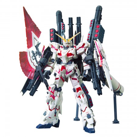 Bandai HGUC RX-0 Full Armor Unicorn Gundam (Destroy Mode / Red Color Ver) 1/144