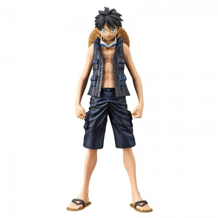 Banpresto DXF The Grandline Men One Piece Film Gold Vol 1 Monkey D Luffy (PVC Figure)