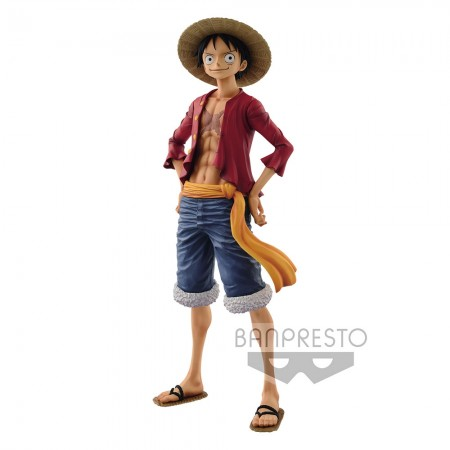 Banpresto Grandista One Piece - The Grandline Men - Monkey D Luffy (PVC Figure)