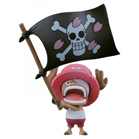 Banpresto One Piece Dramatic Showcase 8th Season Flag Holding Chopper (PVC Figure)