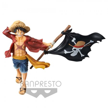 Banpresto One Piece Magazine Figure - Monkey D Luffy (PVC Figure)