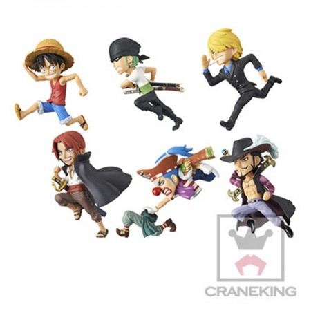 Banpresto One Piece WCF - History Relay 20th - Vol 1 Full Set (PVC Figure)