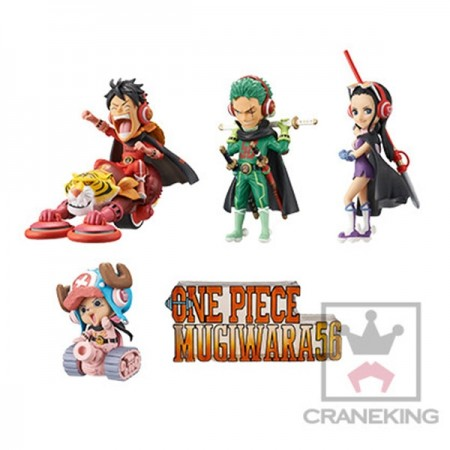 Banpresto One Piece WCF - Mugiwara 56 - Vol 1 Full Set [Set of 5] (PVC Figure)