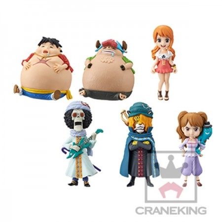 Banpresto One Piece WCF - Whole Cake Island 1 - Full Set (PVC Figure)