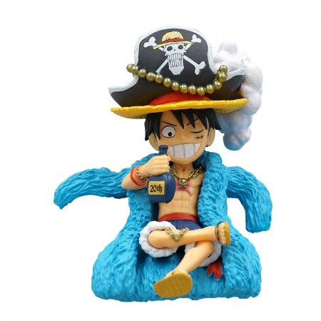 Banpresto One Piece WCF 20TH Limited Vol 1 - Luffy (PVC Figure)