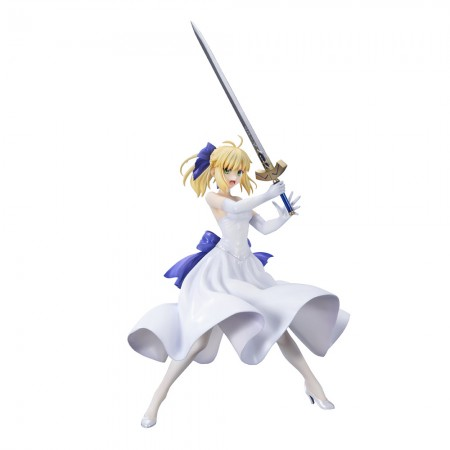 BellFine Saber White Dress Ver (PVC Figure)