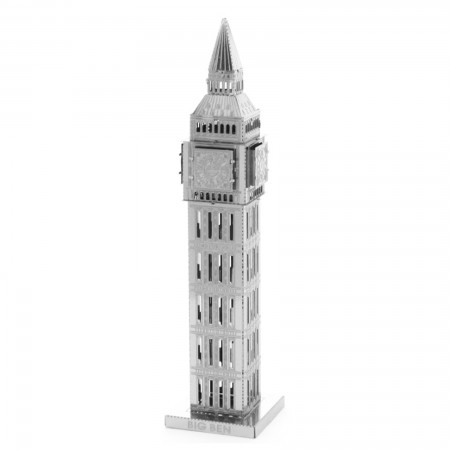 Tenyo Big Ben Tower Metallic Nano Puzzle
