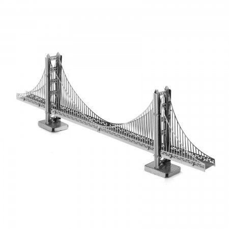 Tenyo Golden Gate Bridge Metallic Nano Puzzle