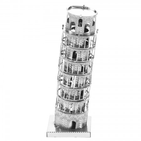 Tenyo Tower of Pisa Metallic Nano Puzzle