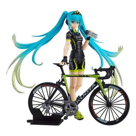 Max Factory figma 307 Racing Miku 2015 Team Ukyo Support Ver (PVC Figure)