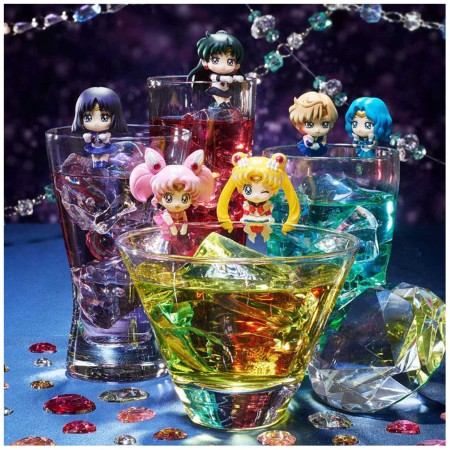 MegaHouse Ochatomo Sailor Moon Cosmic Heart Cafe (Set of 8) (PVC Figure)