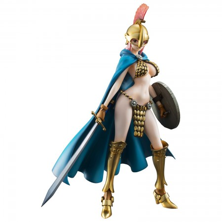 MegaHouse Portrait.Of.Pirates One Piece `Sailing Again` Gladiator Rebecca (Limited Reprint Edition) (PVC Figure)