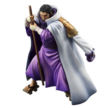 MegaHouse Portrait.Of.Pirates Sailing Again One Piece Admiral Fujitora (PVC Figure)