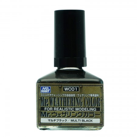 Mr.Weathering Color WC01 Multi Black