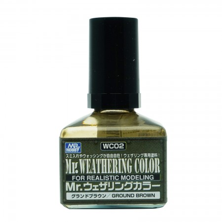 Mr.Weathering Color WC02 Ground Brown