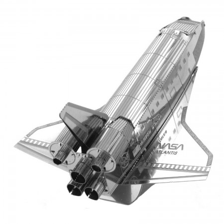 Tenyo Space Shuttle Atlantis Metallic Nano Puzzle