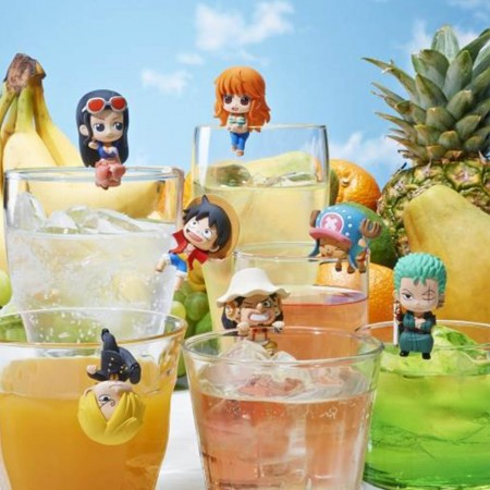 MegaHouse Ochatomo One Piece Pirates Tea Time (Set of 8) (PVC Figure)