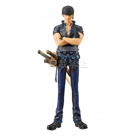 Banpresto DXF The Grandline Men One Piece Film Gold Vol 3 Zoro (PVC Figure)