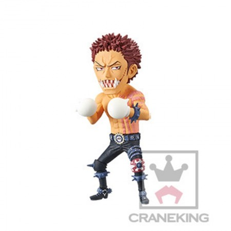 Banpresto One Piece WCF - Battle of Luffy Whole Cake Island - Charlotte Katakuri (PVC Figure)