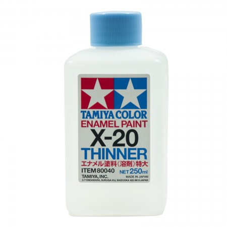 Tamiya X-20 Thinner Enamel Paint TA 80040