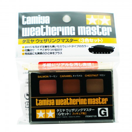 Tamiya Weathering Master G Set Item 87126