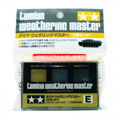 Tamiya Weathering Master E Set Item 87098