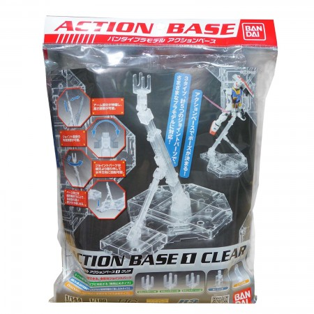 Bandai Action Base 1 Clear
