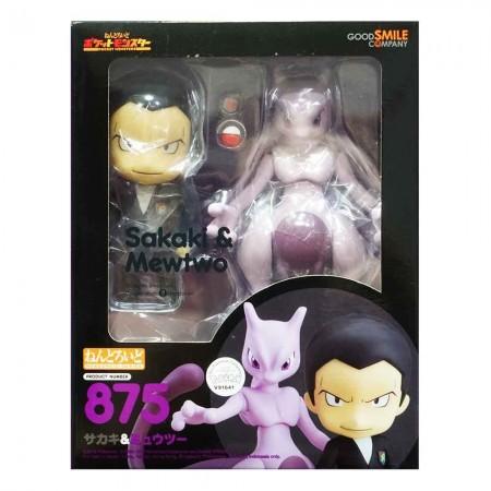 Nendoroid 875 Giovanni (Sakaki) & Mewtwo (PVC Figure)
