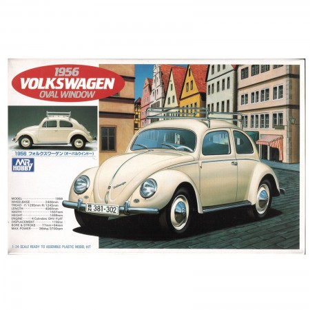 Mr.Hobby 1956 Volkswagen Oval Window 1/24 รุ่น G-149