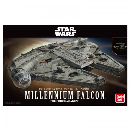 Bandai Star Wars Millennium Falcon The Force Awakens 1/144