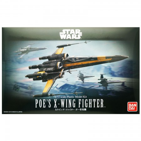 Bandai Star Wars Poe's X-Wing Fighter 1/72