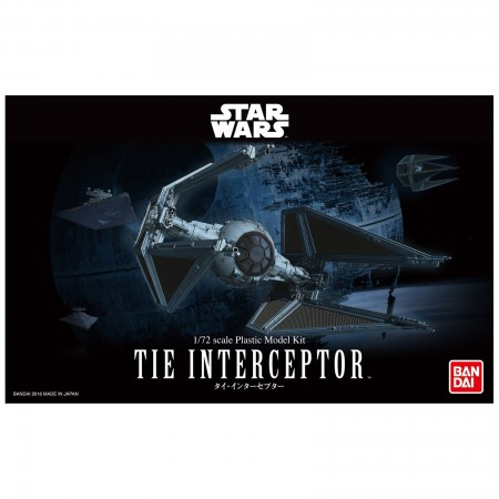 Bandai Star Wars Tie Interceptor 1/72