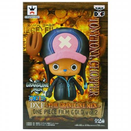 Banpresto DXF The Grandline Men One Piece Film Gold Vol 2 TonyTony Chopper (PVC Figure)