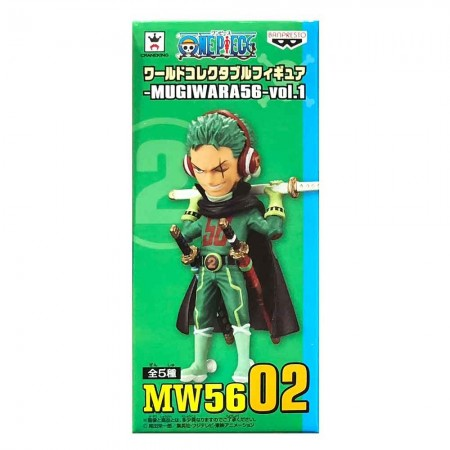 Banpresto One Piece WCF - Mugiwara 56 - Vol 1 - Zoro (PVC Figure)